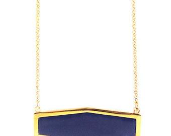 Royale  hexigon necklace