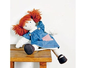 Doll with Stars Sewing Pattern 803532