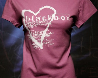 Blackbox-Girls Purple Heart T Shirt