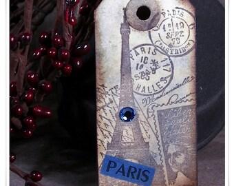 Hangtag Magnet - Paris