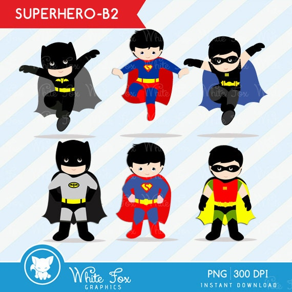 superhero clipart free download - photo #10