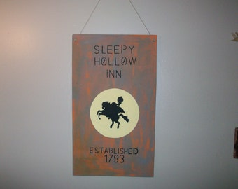 Sleepy Hollow inn sign