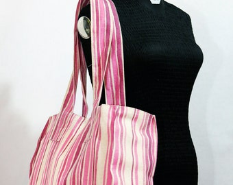Canvas Pink Tote bag