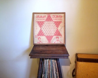 Antique Chinese Checker Board