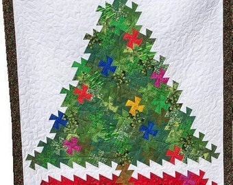 Merry Twistmas Christmas tree pattern - uses Lil' Twister tool - Digital Download