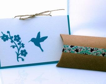 Nikola Jewelry Hummingbird Card
