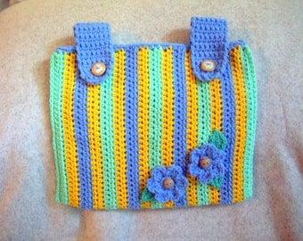 Popular items for crochet walker bag on Etsy