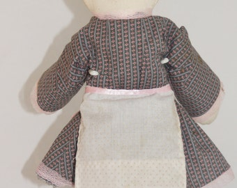 Amish Style Handmade Cloth Doll from the 1970s