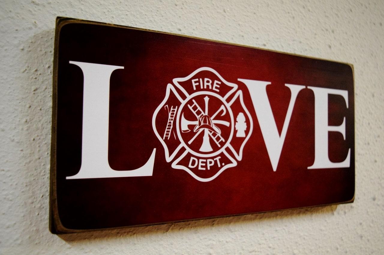Firefighter Gift Fireman Gift Firefighter Decor Fireman