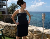 Special listing for Anne - Organic cotton and hemp a-line skirt handmade and dyed Just for you