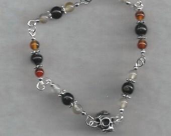Rose Skull Bracelet