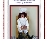 Chef Andy Primitive Raggedy Doll E-Pattern