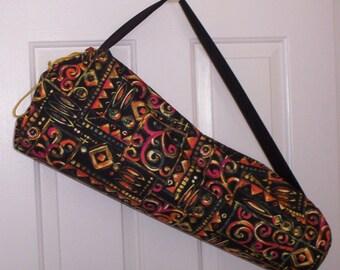 Large Yoga Mat Bag, Yoga Gear, Unisex Yoga Mat Bag, Yoga Mat Holder, Pilates Bag Mat Carrier, Wide Yoga Mat Bag, Gift for Yogies