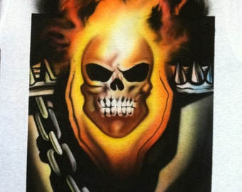 Airbrushed Ghost Rider Shirt