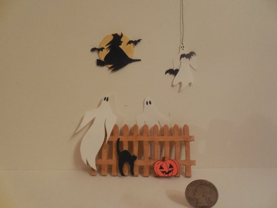 Halloween decorations for your dollhouse porch Vintage halloween decorations uk