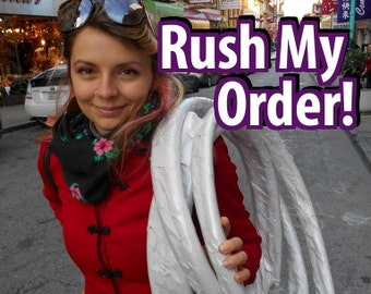 Rush My Order Upgrade For Your Hiptronic Hoop w/Optional EXPRESS Shipping!