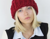 The VARSITY - CUSTOM Letter or Number Knit Hat