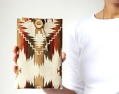 Ikat Kobo case - Kobo Aura HD - Kobo Aura H2O - Kobo Mini - Kobo Glo - Kobo Arc 7Hd - Kobo Touch - Cotton gobelin - Natural - Tribal