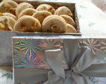 Cookie Gift Box Your Choice Of Flavor Holiday or Birthday Gift