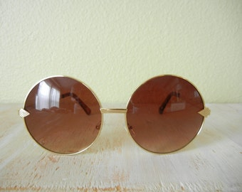 The Janis Sunglasses | Round Sunglasses