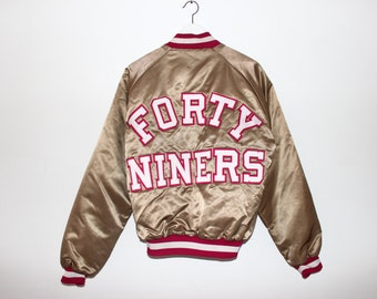Vintage 80s 90s San Francisco 49ers Forty Niners Gold