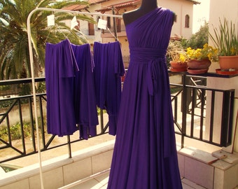 Infinity Convertible Dress Floor Length