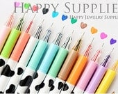 Set of 12 Color Korean Cute Stationery DIY Painting Drawing Watercolor Marker Pen Brush for Text Liner, Scrapbook (PEN12)