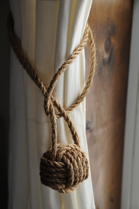 Nautical Curtain Tie Backs Nautical Decor Nautical