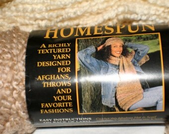 Vintage Lion Brand Homespun Yarn