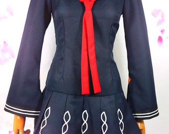 Tendo Kisara Dress Anime Cosplay Costume Any Size