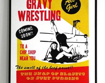 Gravy Wrestling