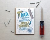 Funny Father's Day Card: Righty-Tighty, Lefty-Loosey, Father's Day Card or Dad Birthday Card