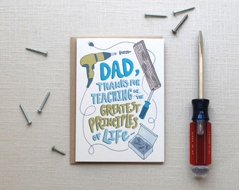 Funny Fathers Day Card or Dad Birthday Card no longer