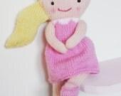 Doll Knitting Pattern Toy Rag Doll Pattern PDF - Rosie & Lulu