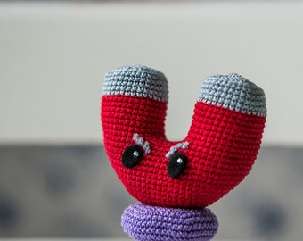 Amigurumi Plants Vs Zombies : Crochet Pattern of Chomper from Plants vs Zombies