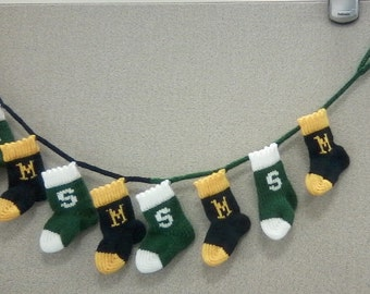 Stocking Garland - Team Spirit