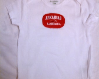 Arkansas Razorback Shirt (size 18 months)
