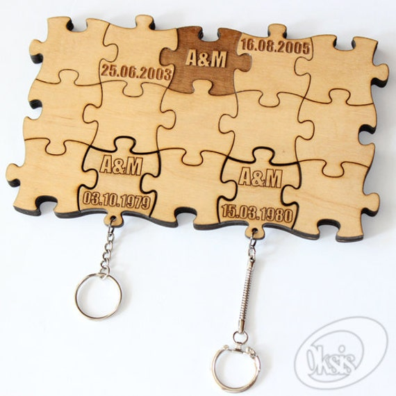 Items Similar To Personalized Wall Key Holder Wall Key