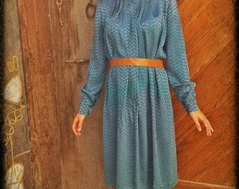 VINTAGE 70's DRESS// XS o S Size
