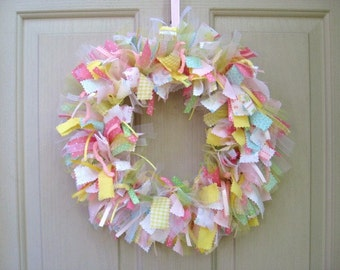Newborn Baby Girl Wreath, Baby Girls Room Decor, Its A Girl Hospital Door Decor, Baby Wreaths, Baby Shower Wreath, Baby Nursery Decor
