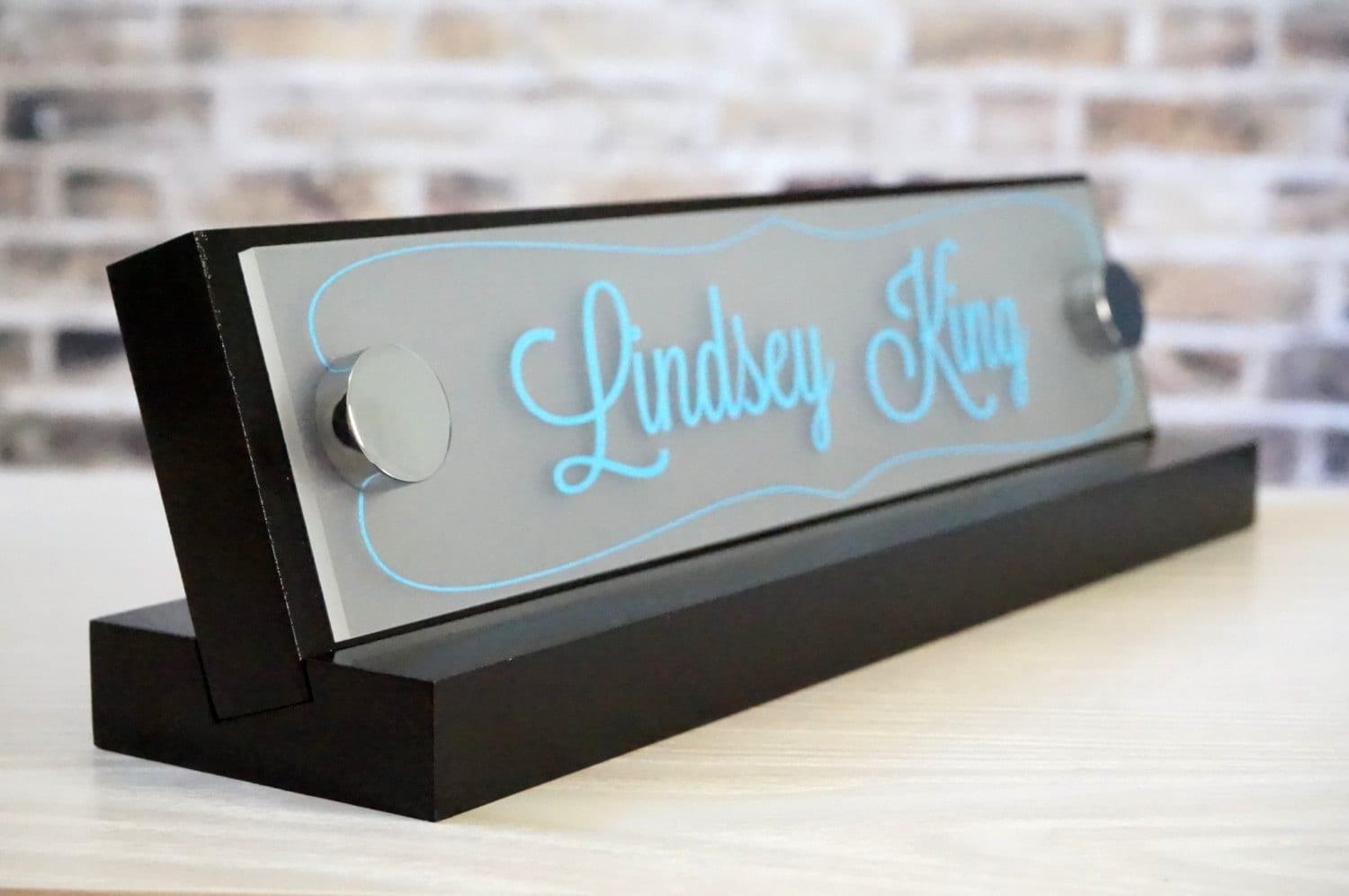 Made By Garo Signs Desk Name Plate 10 X 2 5
