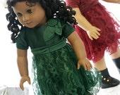 Dining girl set doll american