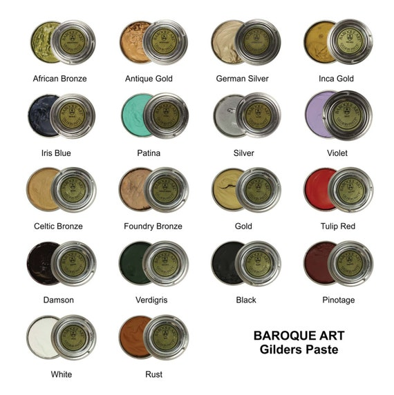 Baroque Art Gilders Paste 18 Colours To Choose By ...