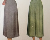 Vintage McCall 7360 Sewing Pattern, Straight Skirt, 1940s Skirt Pattern, McCalls 7360 Gored Skirt, Waist 28, 1940s Sewing Pattern, Forties