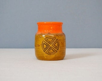 Mid Century Bitossi Vase or Small Jar