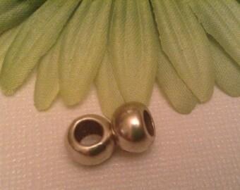 European charm, 2 silver charms, bracelet charms, european charm beads, charms for bracelet,cross,cross jewelry