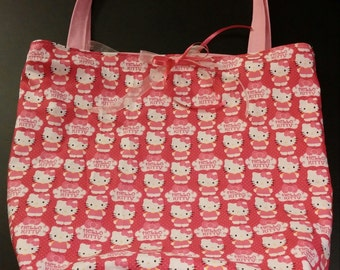 Cute Hello Kitty Tote Bag
