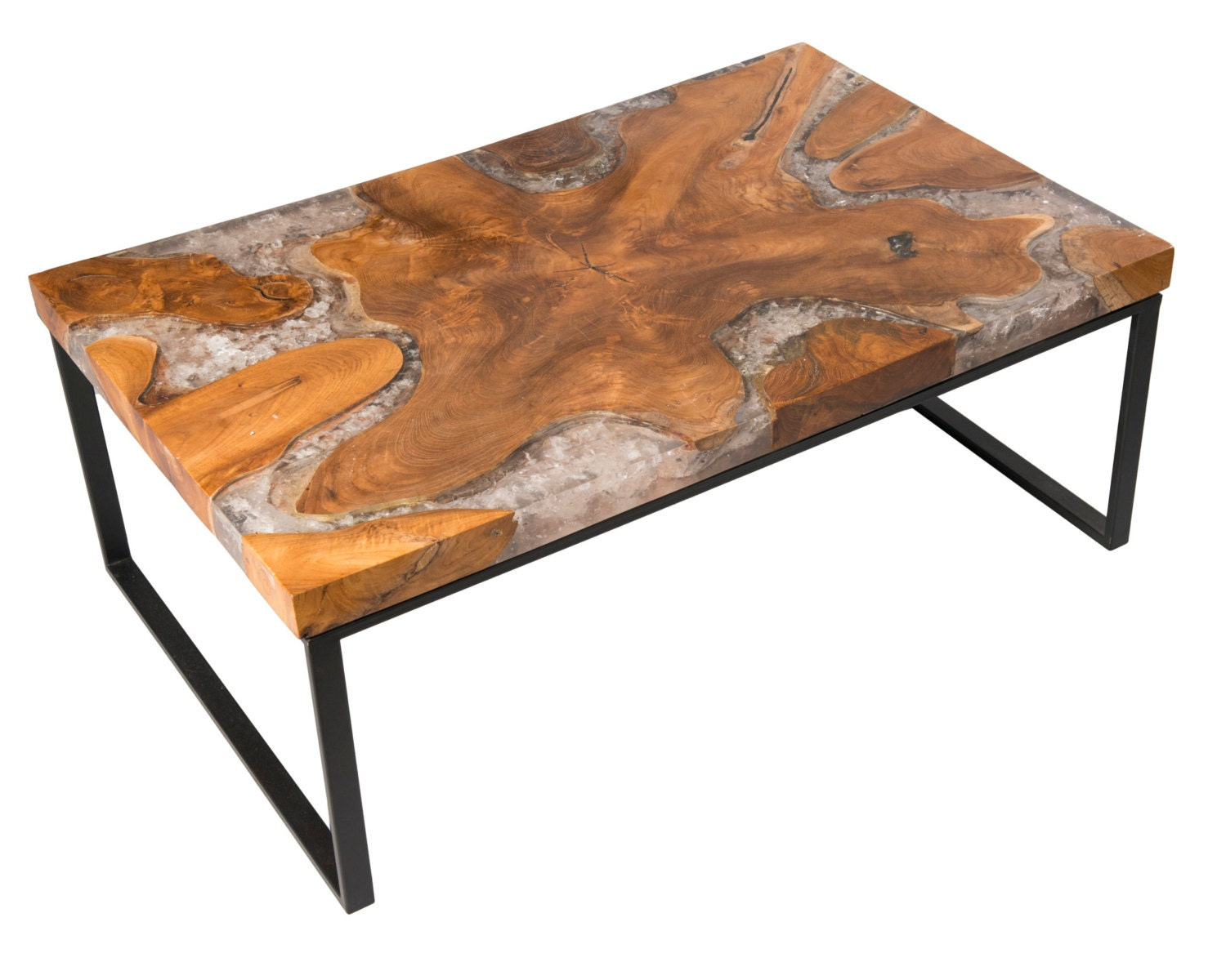 Very Impressive portraiture of Teak Root Resin Coffee Table by AireCollection on Etsy with #C96D02 color and 1500x1200 pixels