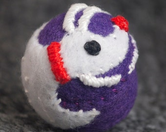 FREE SHIP Zero from Nightmare Before Christmas bottlecap pincushion made to order