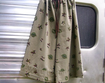 Upcycled  Pillowcase Pajama/Lounge Pants to fit Woman XS-Medium